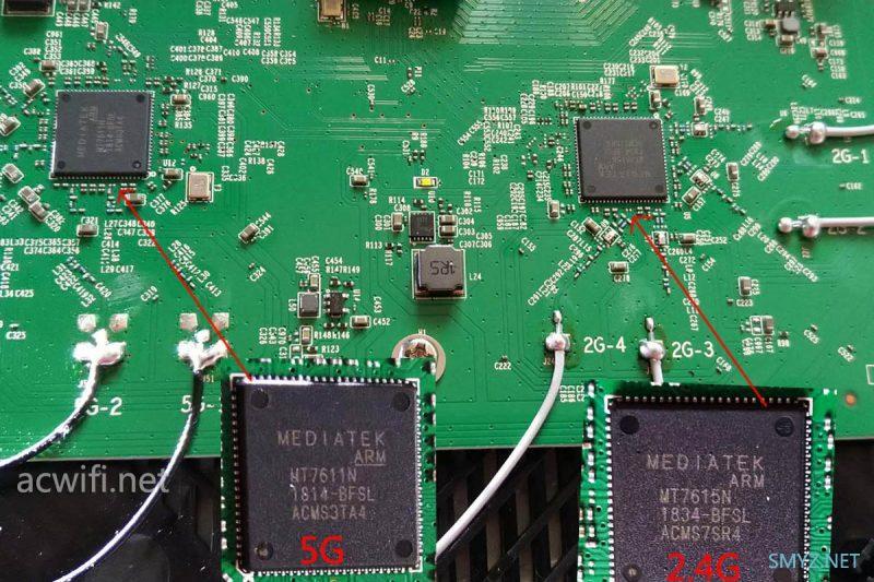 TPLINK TL-WDR8660 2600M无线路由器拆机