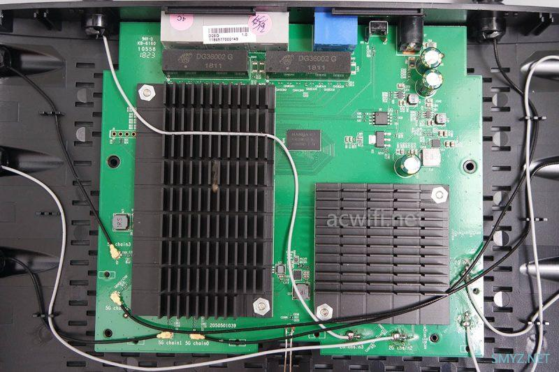 水星D26G拆机 AC2600无线路由器