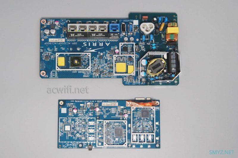 ARRIS SBR-AC1900P拆机,花生壳无线路由器
