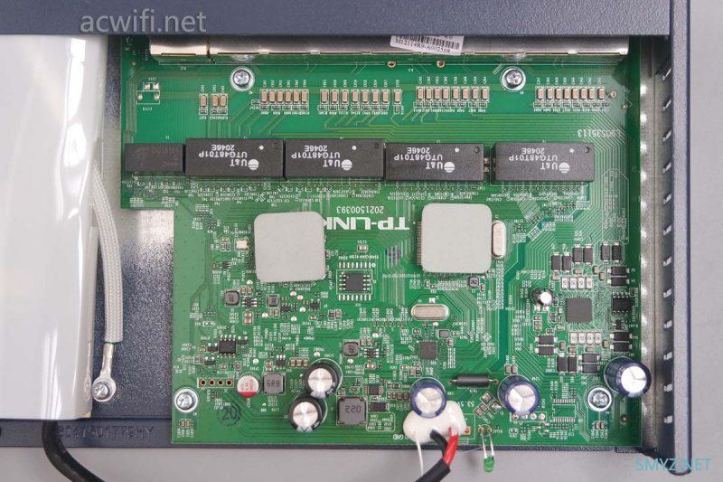 TP-LINK R479GPV4.0拆机,POE、路由、AC控制一体机
