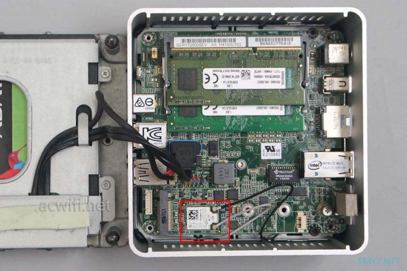 收了台二手NUC和一台J4125双千兆小主机,我就想装个AX200这么难