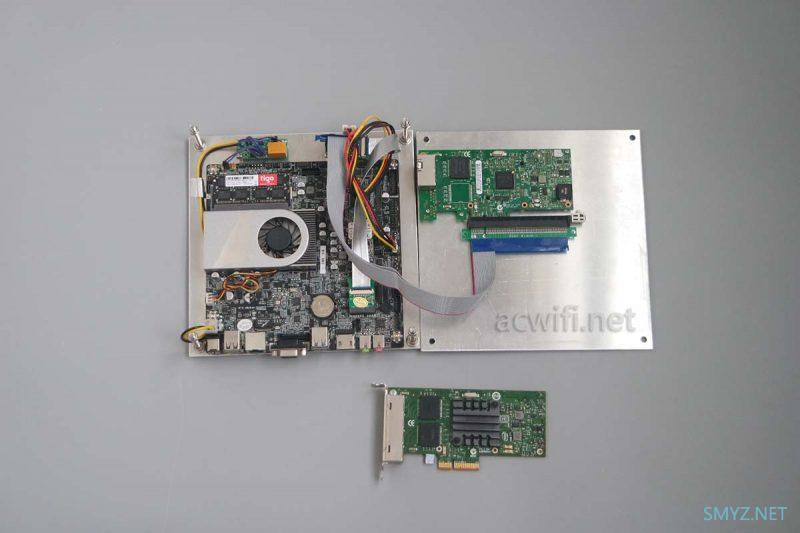 转接PCIE X1后的网卡还有多少速度? 软路由的网卡挑选