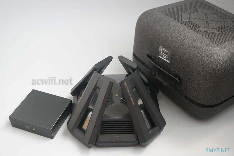 小米AX9000三频无线路由器拆机