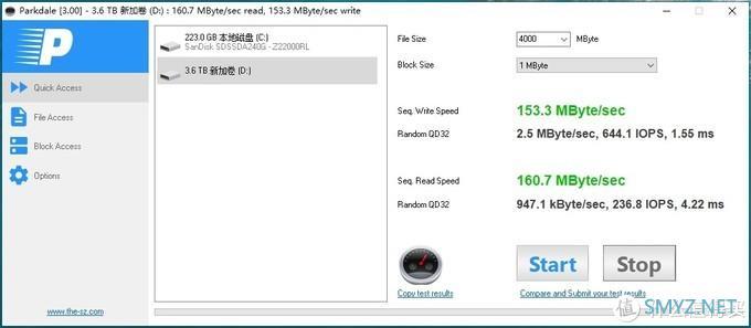 NAS从入门到放弃 篇二:Win10下的磁盘管理性能哪家强