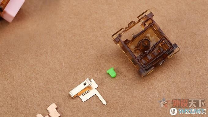 纵享丝滑的凯华cocopinke可可粉机械轴体