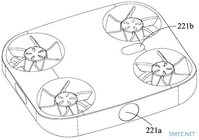 带螺旋桨的手机见过吗?内置无人机的手机专利曝光